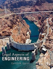 Cover of: Legal Aspects of Engineering | GAYTON  CYNTHIA