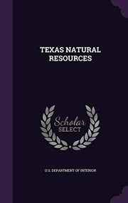 Cover of: Texas Natural Resources |