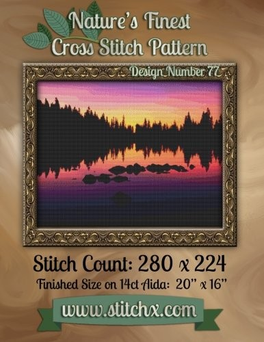 Nature's Finest Cross Stitch Pattern: Design Number 77 by Nature Cross Stitch