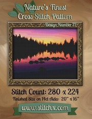 Cover of: Nature's Finest Cross Stitch Pattern: Design Number 77 | Nature Cross Stitch