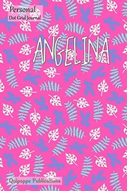 "Cover of: Personal Dot Grid Journal: Dot Grid Journal Notebook Diary, Personal Leaves Pattern on Pink - Personal Journal for Angelina Cover, 6x9"", 130 Pages 