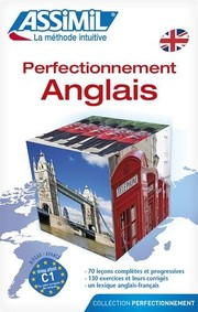 Cover of: Perfectionnement Anglais - learn advanced English for French speakers (Book only-CD's sold separately) (French Edition) | Assimil