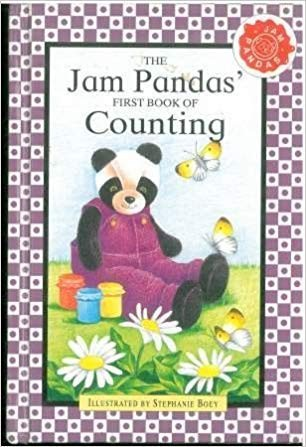 Jam Panda's First Book of Counting by Stephanie Boey