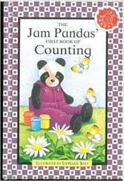 Cover of: Jam Panda's First Book of Counting | Stephanie Boey