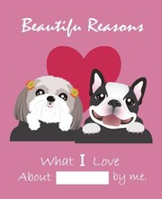 Cover of: Beautiful Reasons What I Love About You by Me: Fill In The Blank Journal, Why I Love You, Captivated By You, Happy Valentine's Day gift, Love letter (7.5 x 9.25 inch) Puppy (Animal Couples) (Volume 5) | Belle Blanco