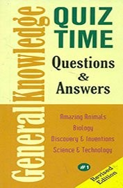Quiz Time General Knowledge Questions & Answers by Spider Books