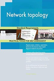 Cover of: Network topology Standard Requirements | Gerardus Blokdyk