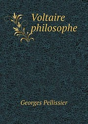 Cover of: Voltaire philosophe | Georges Pellissier