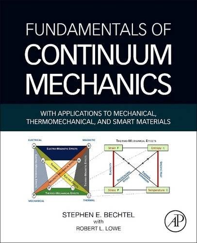 Fundamentals of Continuum Mechanics: With Applications to Mechanical, Thermomechanical, and Smart Materials by Stephen Bechtel, Robert Lowe