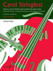 Cover of: Carol Stringfest: Violin Duet, Part(s) (Faber Edition) | Mary Cohen