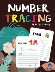 Cover of: Number Tracing Book for Preschoolers: Ages 3+ and weekly FREE Bonuses | Preschool Workbooks, ArgoPrep