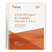 Cover of: ICD-9-CM Expert for Hospitals and Payers VOL. 1, 2 & 3, 2015 | Optum360