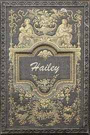 "Cover of: Hailey: Classic Style Jiu-Jitsu Training Diary Training journal log feature 120 pages 6""x9"" 