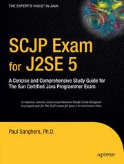 Cover of: SCJP Exam for J2SE 5 | Paul Sanghera