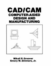 Cover of: CAD/CAM by Mikell P. Groover
