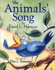 Cover of: The Animals' Song by David L. Harrison