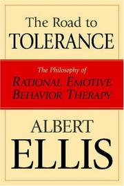 Cover of: The Road To Tolerance | Albert Ellis