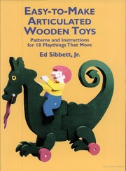 Cover of: Easy-to-make articulated wooden toys | Ed Sibbett