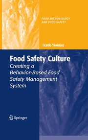 Cover of: Food safety culture | Frank Yiannas