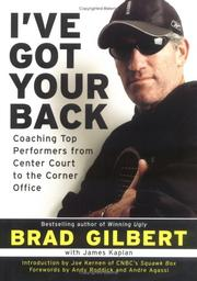 Cover of: I've Got Your Back by Brad Gilbert