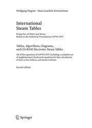 Cover of: International steam tables | Wagner, Wolfgang