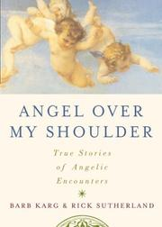 Cover of: Angel over my shoulder | Barbara Karg, Rick Sutherland, Barb Karg