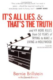 Cover of: It's All Lies and That's the Truth by David Rensin