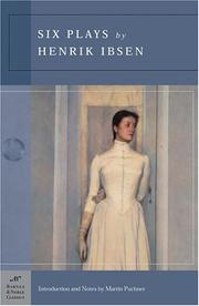Cover of: Six Plays by Henrik Ibsen by Henrik Ibsen