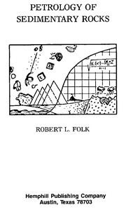 Cover of: Petrology of sedimentary rocks | Robert L. Folk