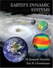 Cover of: Earth's Dynamic Systems, 10th Edition | W. Kenneth Hamblin