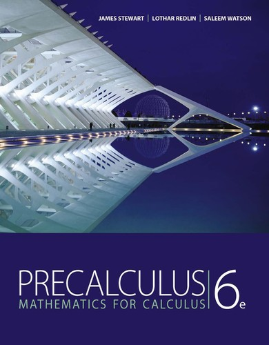 Precalculus by James Stewart