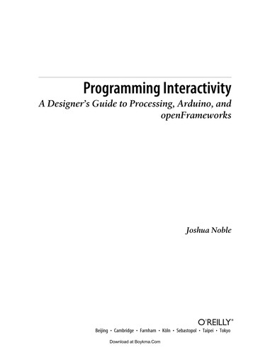 Programming interactivity by Joshua J. Noble