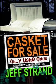 Cover of: Casket For Sale | Jeff Strand