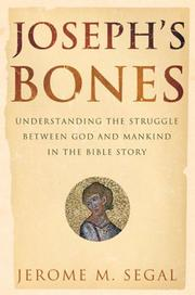 Cover of: Joseph's Bones | Jerome M. Segal