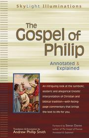 Cover of: The Gospel of Philip | Andrew Phillip Smith