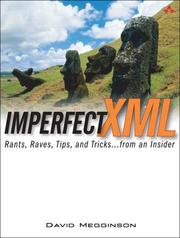 Cover of: Imperfect XML | David Megginson