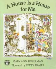 Cover of: A House Is a House for Me by Mary Ann Hoberman