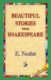 Cover of: Beautiful Stories from Shakespeare | E. Nesbit