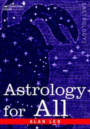 Cover of: Astrology for all | Alan Leo