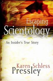 Cover of: Escaping Scientology by Karen Schless Pressley