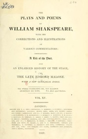The Plays and Poems of William Shakspeare (King John / Tempest)