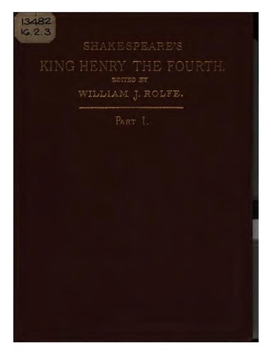 King Henry IV. Part 1 by William Shakespeare