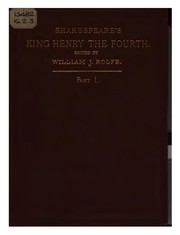 Cover of: King Henry IV. Part 1 | William Shakespeare