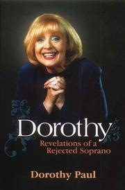 Cover of: Dorothy by Dorothy Paul