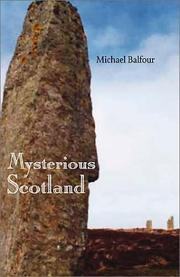 Cover of: Mysterious Scotland by Michael David Balfour