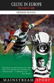 Cover of: Celtic in Europe by Graham McColl