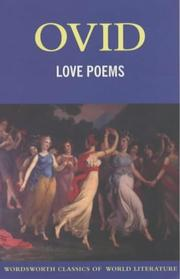 Cover of: Love Poems | Ovid