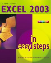Cover of: Excel 2003 in Easy Steps | Stephen Copestake