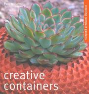 Cover of: Creative Containers by Paul Williams