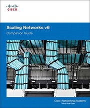 Cover of: Scaling Networks v6 Companion Guide | Cisco Networking Academy